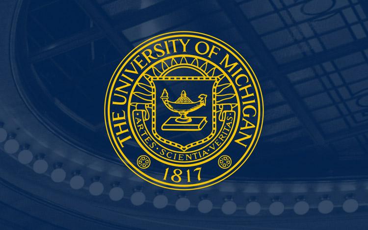 The University of Michigan 1817 seal